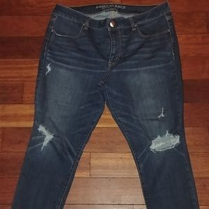 American Eagle AE Distressed Jean Jeggings